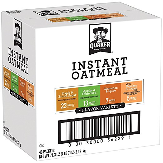 Fresh Food for Camping: Instant Oatmeal