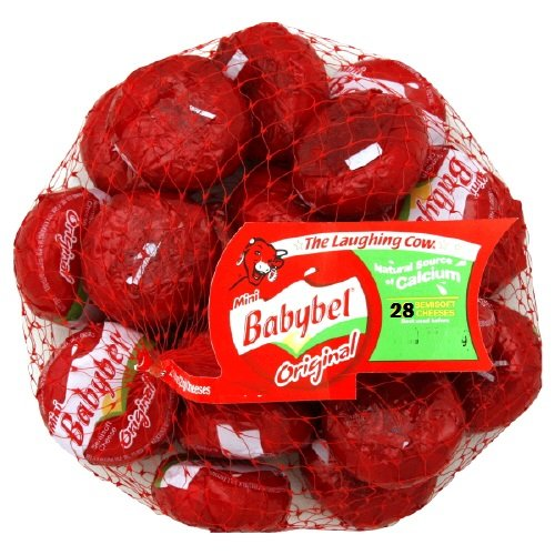 Fresh Food for Backpacking: Mini Babybel Cheeses