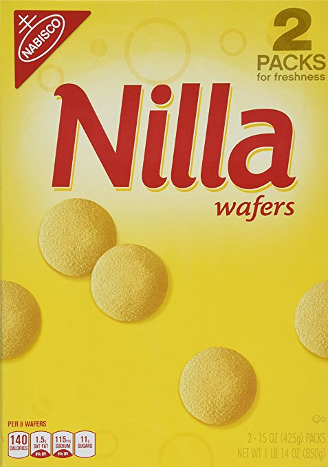 Fresh Food for Backpacking: Nilla Wafers