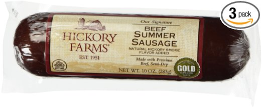 Fresh Food for Backpacking: Summer Sausage