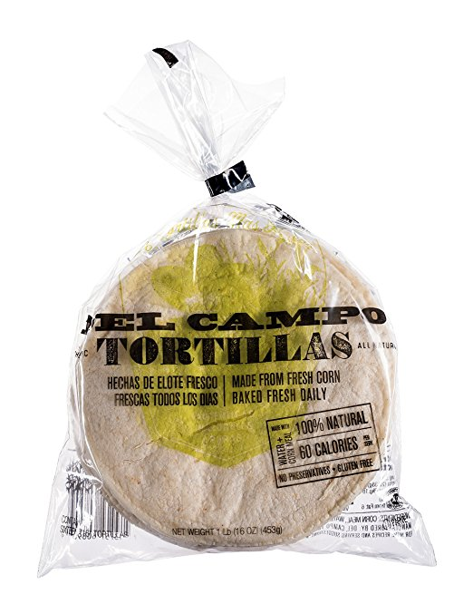 Fresh Food for Camping: Tortillas