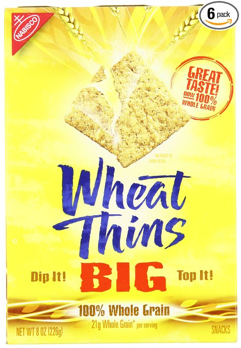Fresh Food for Camping: Wheat Thins