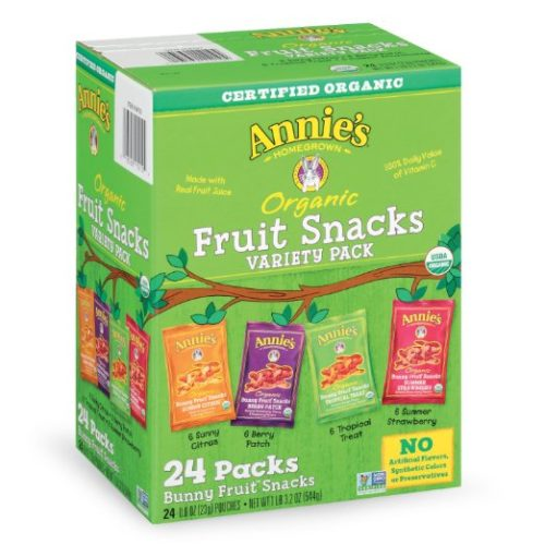 Sweets for Backpacking: Annie's Fruit Snacks