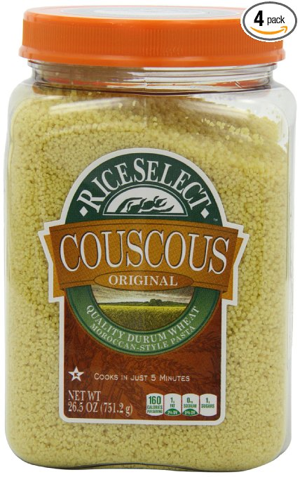 Fresh Food for Camping: Couscous