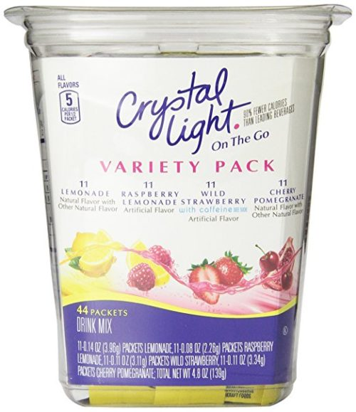 Drink Mixes for Backpacking: Crystal Light Drink Mix