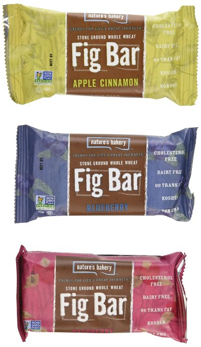Fresh Food for Hiking: Fig Bars