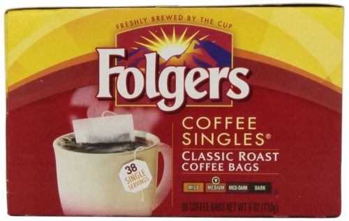 Drink Mixes for Camping: Coffee Singles