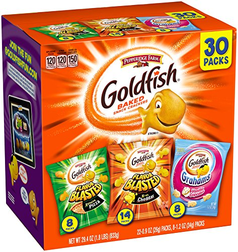 Fresh Food for Hiking: Goldfish