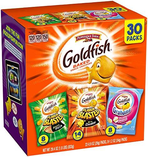 Fresh Food for Backpacking: Goldfish