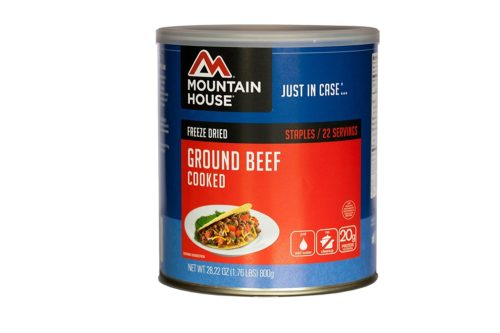 Freeze Dried Food for Camping: Freeze Dried Ground Beef