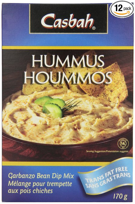 Dehydrated Food for Backpacking: Hummus Mix