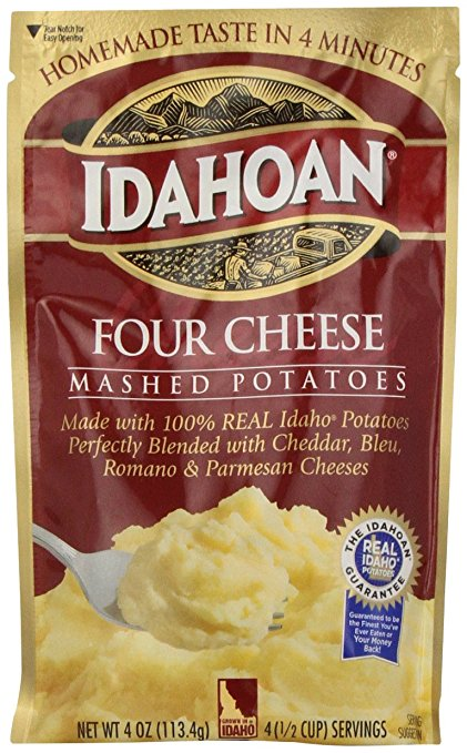 Dehydrated Food for Camping: Instant Potatoes