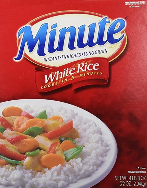 Dehydrated Food for Camping: Instant White Rice