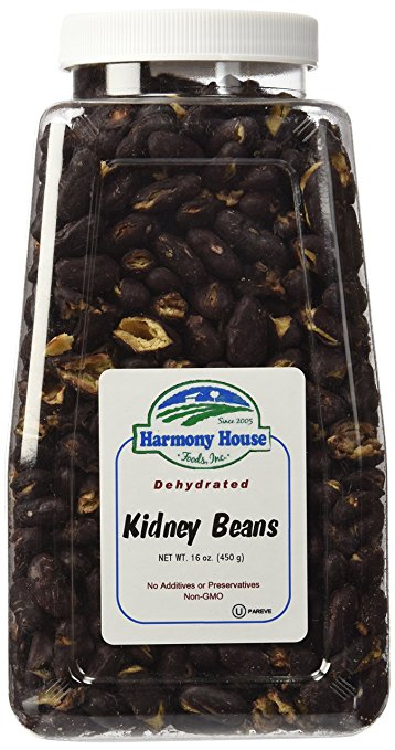 Dehydrated Food for Camping: Kidney Beans