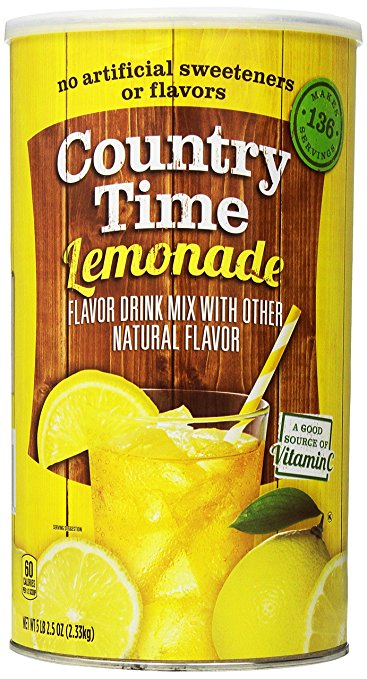 Drink Mixes for Camping: Lemonade