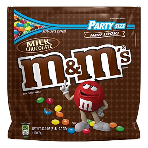 Sweets for Backpacking: M&Ms