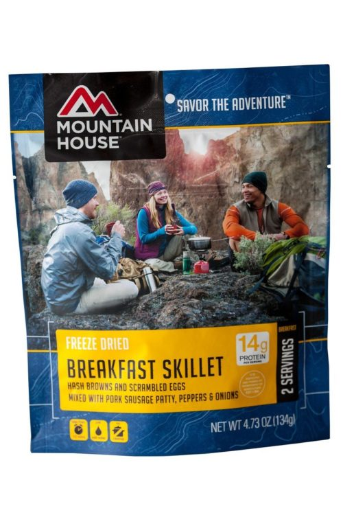 Freeze Dried Food for Backpacking: Mountain House Breakfast Skillet