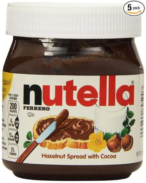 Fresh Food for Hiking: Nutella