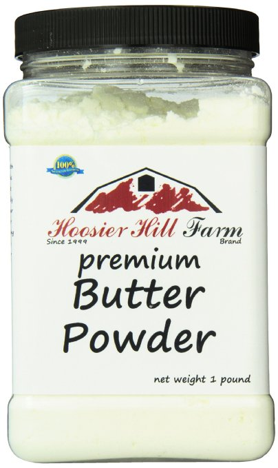 Dehydrated Food for Camping: Powdered Butter