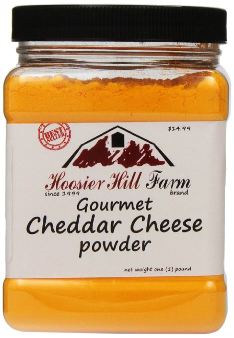 Dehydrated Food for Hiking: Powdered Cheese