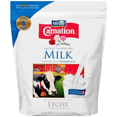 Dehydrated Food for Backpacking: Powdered Milk