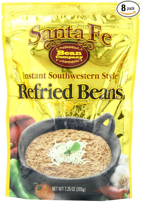 Dehydrated Food for Camping: Refried Beans