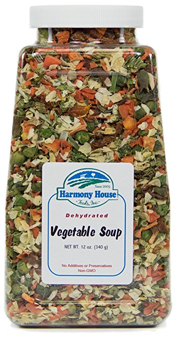 Dehydrated Food for Backpacking: Soup Mix