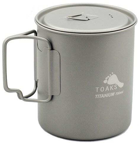 TOAKS Titanium Pot