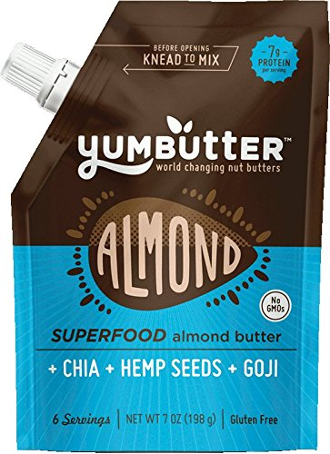 Fresh Food for Hiking: Almond Butter