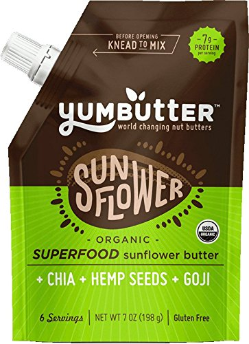 Fresh Food for Hiking: Sunflower Butter
