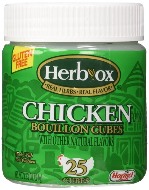 Condiments for Camping: Bouillon Cubes