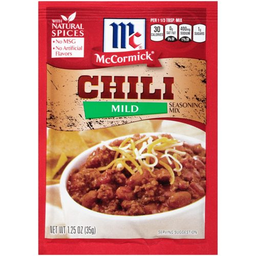 Condiments for Backpacking: Chili Seasoning