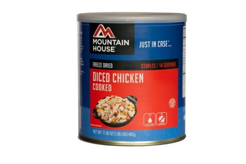 Freeze Dried Food for Camping: Freeze Dried Diced Chicken