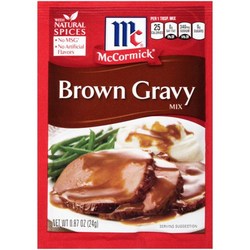 Dehydrated Food for Camping: Gravy