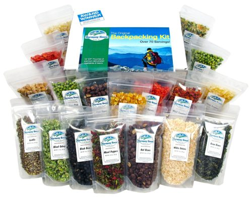 Dehydrated Food for Camping: Harmony House Dehyrated Backpacking Kit