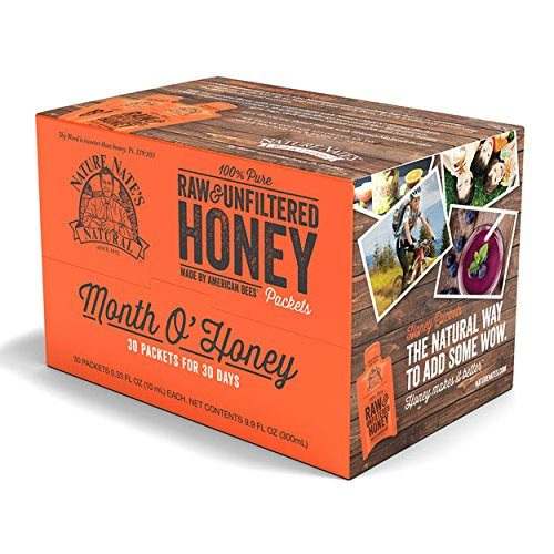 Condiments for Backpacking: Honey