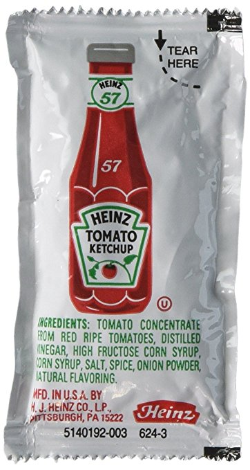 Condiments for Hiking: Ketchup