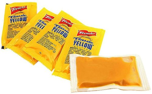 Condiments for Backpacking: Mustard