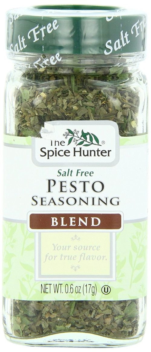 Condiments for Backpacking: Pesto Seasoning