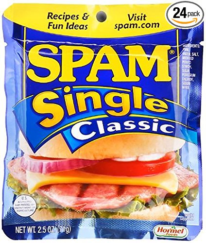 Fresh Food for Backpacking: Spam