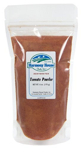 Dehydrated Food for Hiking: Tomato Powder