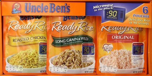 Fresh Food for Camping: Uncle Ben's Ready Rice